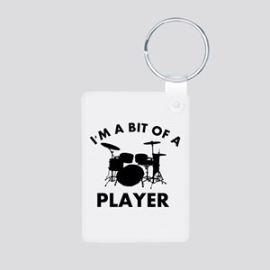 Cool Banjo designs Aluminum Photo Keychain