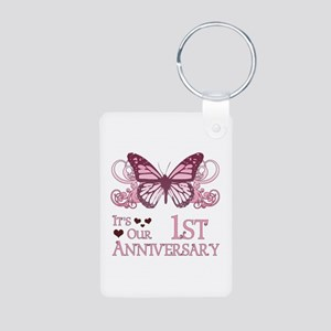 1st Wedding Aniversary (Butterfly) Aluminum Photo