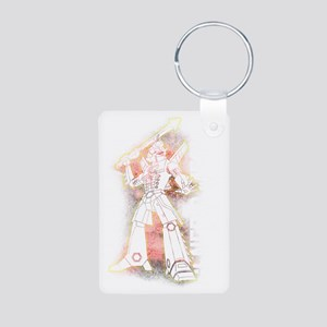 Generic Mecha Ver. 1.0 Aluminum Photo Keychain