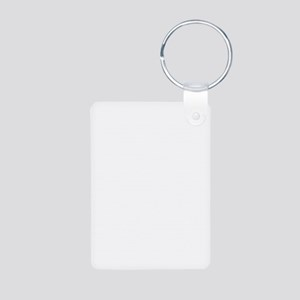 Elf Hat on Elf Aluminum Photo Keychain