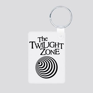 Twilight Zone Aluminum Photo Keychain