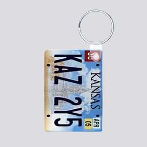 KAZ 2Y5 Aluminum Photo Keychain