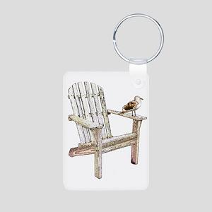 Adirondack Chair Aluminum Photo Keychains - CafePress