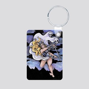 valkyrie Aluminum Photo Keychain