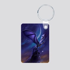Dragon Flight Aluminum Photo Keychain