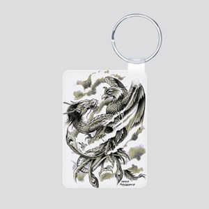 Dragon Phoenix Tattoo Art A4 Keychains