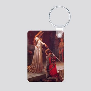 Knight and His Queen Victorian art Keychains