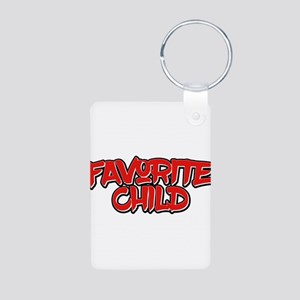 """Favorite Child"" T-Shirt Funny Keychains"