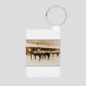 Best Seller Wild West Aluminum Photo Keychain