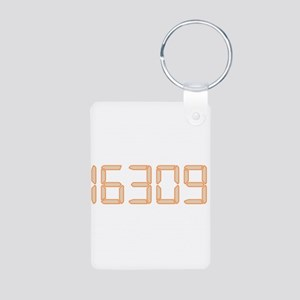 16309 Aluminum Photo Keychain