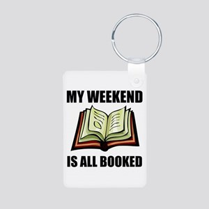 Weekend All Booked Keychains