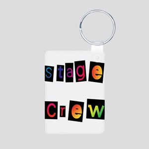stage Aluminum Photo Keychain