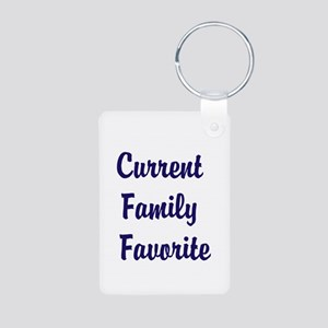 Current Family Favorite Funny Aluminum Photo Keych