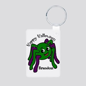 Personalized name Halloween spider Aluminum Photo