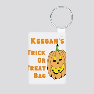 Personalized Trick or Treat bag Aluminum Photo Key