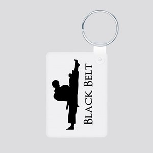 Black Belt Keychains