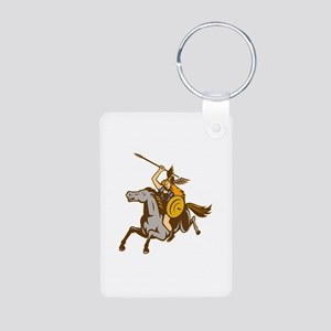 Valkyrie Riding Horse Retro Keychains