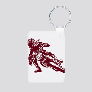 Aluminum Photo Keychain