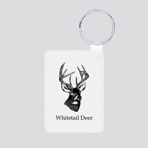 White Tailed Deer 10 Point Buck Keychains