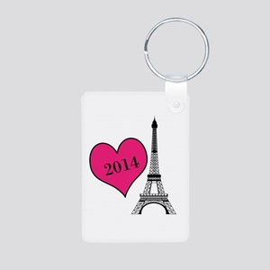 EIffel Tower Personalizable Keychains