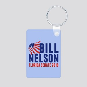 Bill Nelson 2018 Aluminum Photo Keychain