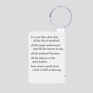 Moliere on Dance Aluminum Photo Keychain
