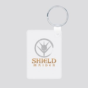 Shield Maiden Scandinavian Folklore Viki Keychains