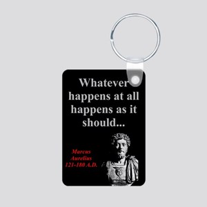 Whatever Happens At All - Marcus Aurelius Aluminum