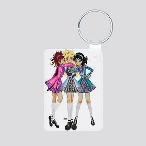 Irish Dance Aluminum Photo Keychain