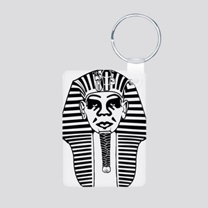 Obey Pharaoh Aluminum Photo Keychain