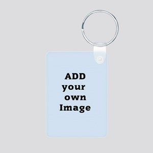 Add Image Aluminum Photo Keychain