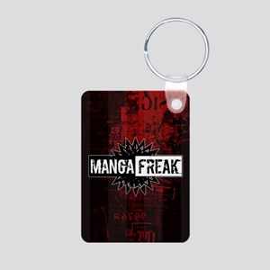 MangaFreak Aluminum Photo Keychain