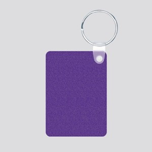 Solid Purple Glimmer Keychains
