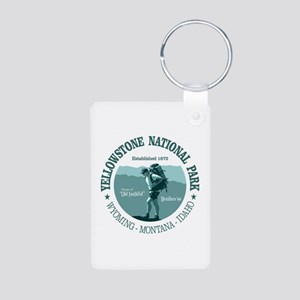Yellowstone (rd) Keychains