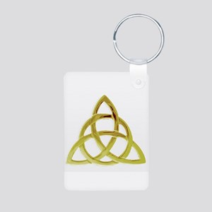 Triquetra, Charmed, Book o Aluminum Photo Keychain