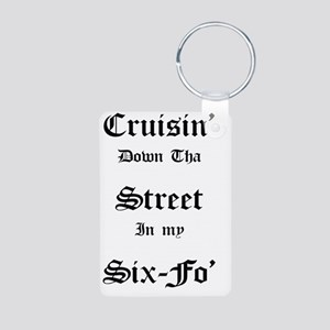 Cruisin Aluminum Photo Keychain