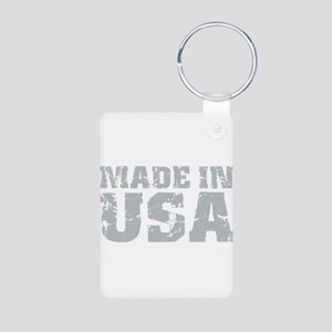 Made In USA Aluminum Photo Keychain