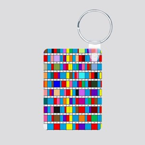 Prime Factorization Chart Aluminum Photo Keychain
