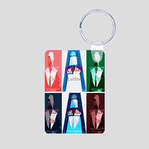 The Scarlet Letter Aluminum Photo Keychain