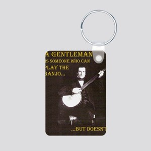 A Gentleman Aluminum Photo Keychain