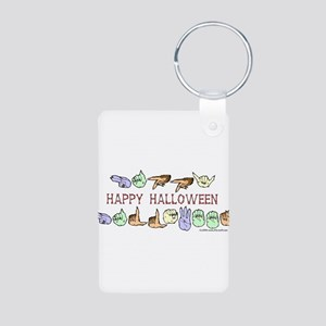 HalloweenCC Aluminum Photo Keychain