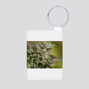 Cherry Pie Aluminum Photo Keychain