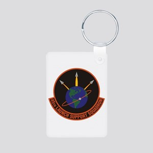 45th Launch Support Sqdrn Aluminum Photo Keychain