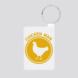 Chicken Man Keychains