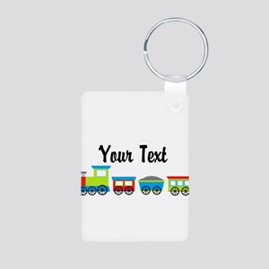 Personalizable Choo Choo Train Keychains