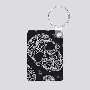 Skulls Aluminum Photo Keychain