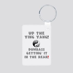 UP THE YING YANG - DUMBASS Keychains