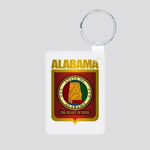 """Alabama Gold"" Aluminum Photo Keychain"