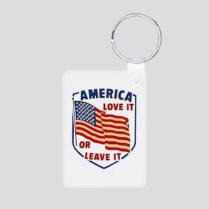 America Love it Keychains