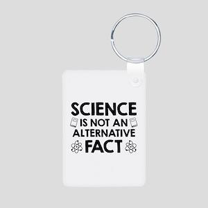 Science Aluminum Photo Keychain
